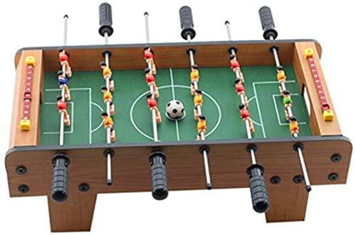 Qjkmgd Table Top Foosball/Juego de fútbol, Juegos de Mesa para niños, Foosball Fútbol Competición Tabla Top Set Game Room Sports