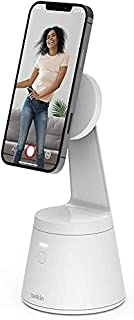 Belkin Magnetic Phone Mount with Face Tracking (MagSafe Compatible Cellphone Stand with Movement Tracking for Content Crea...