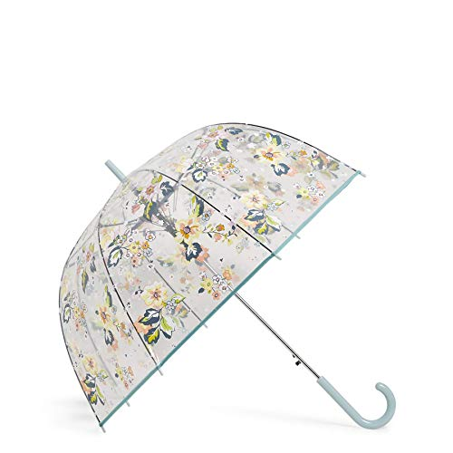 Vera Bradley Auto Open Bubble Umbrella, Floating Garden
