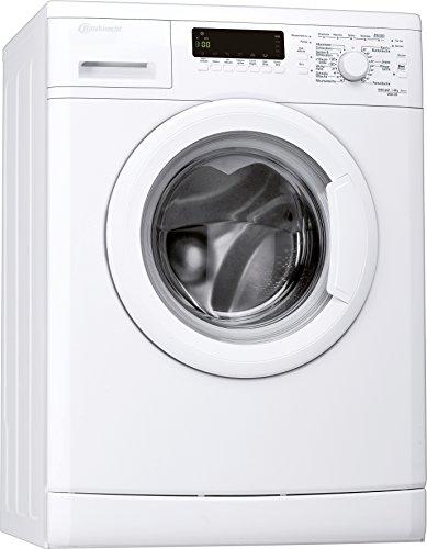 Bauknecht WAK 83 Waschmaschine FL / A+++ / 193 kWh/Jahr / 1400 UpM / 8 kg / 11000 L/Jahr / Mengenautomatik /Unterbaufähig