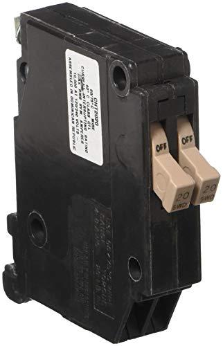 "EATON GIDDS-606124 3/4"", 120 Vac, 20 Amps 606124 Ch Series Single-Pole Twin Breaker"