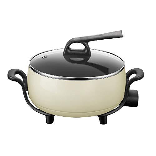 DYXYH Hot Pot électrique Maison multi-fonction électrique Friture de cuisson légumes Hot Pot Plug In One Pot électrique 2-3-4-6 Personnes