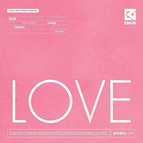 DKB [LOVE] 2nd Mini Album DARK B CD+64p Fotobuch+2ea Karte SEALED+TRACKING CODE K-POP SEALED