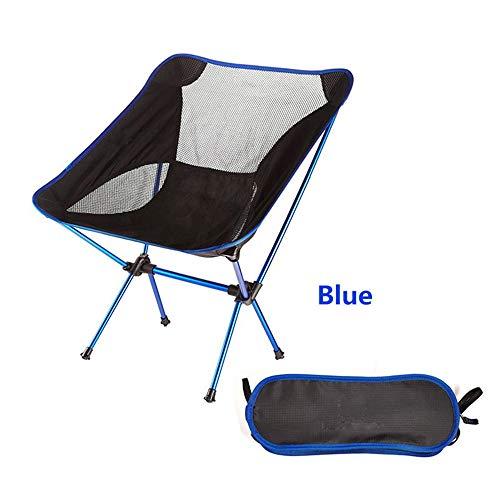 RBH Silla de Camping portátil, Bolsa de Asas Plegable compacta Ultraligera Silla de Mochila Duradera, para Exteriores/Camping/Picnic/Senderismo