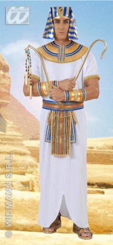 Widmann wdm9004u–Kostüm für Erwachsene Ägyptischer Pharao, weiß, XL