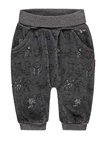 Kanz Unisex Baby Jogginghose, Grau (Wolve Gray Melange|Gray 8094), (Herstellergröße: 74)