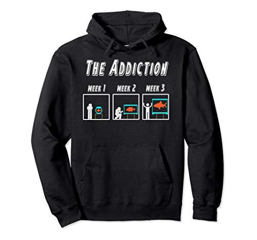 Witziges Aquarianer T-shirt für Aquarium und Zierfisch Fans Pullover Hoodie