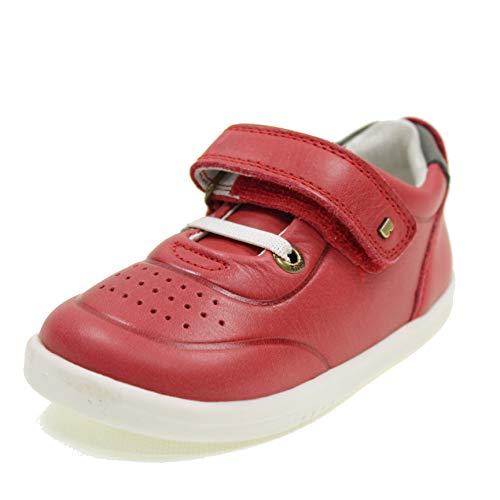 BOBUX Zapatos con Velcro I Walk Ryder NIÑO 635509 Rojo Tamaño: 22