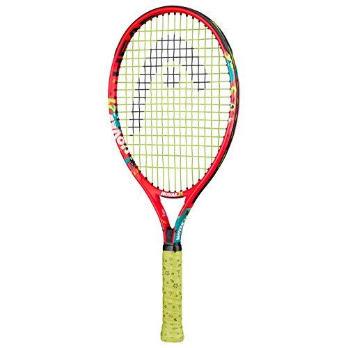 HEAD Novak 21 Racchette da Tennis, Unisex Bambino, Multicolore, 4-6 Anni