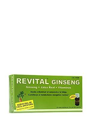 REVITAL GINSENG +VIT C + REAL JALEA 20 AMPOLL