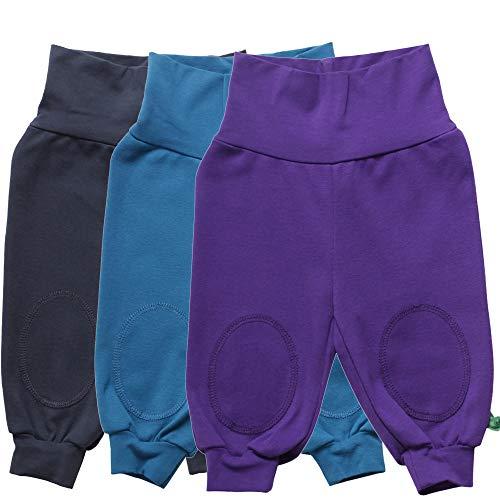 Fred'S World By Green Cotton Alfa Pants Mix 3-Pack Pantalon, Bleu (Midnight 019411006), 68 Mixte bébé