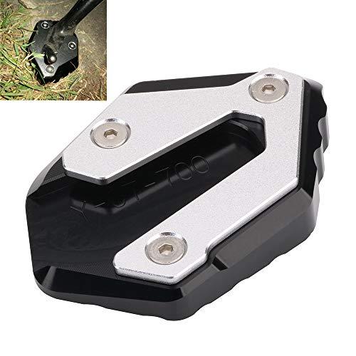 AnXin motocicleta soporte lateral placa Kickstand extensión