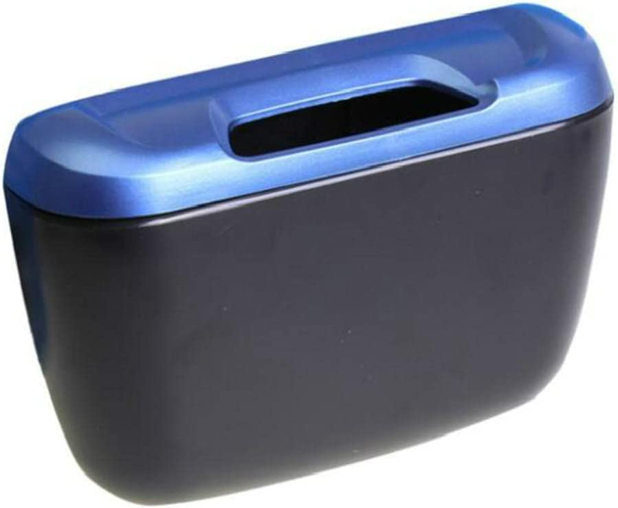 BAWAQAF New product!! 1Pc Car New item Trash Auto Dus Rubbish Can Garbage Dustbin