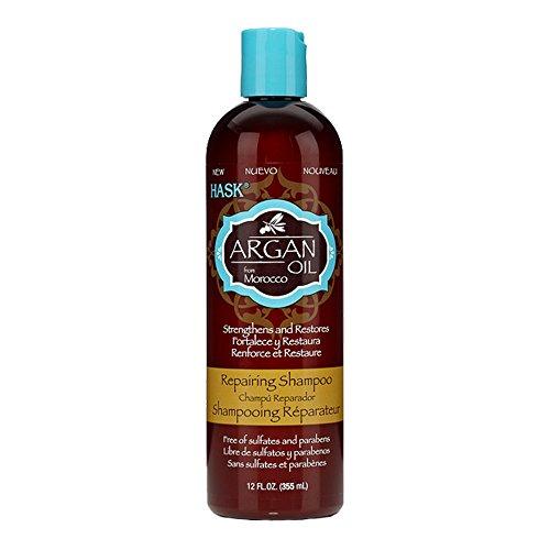 Hask Argan Oil Repairing Hair Care Shampoo, 12 Fluid Ounce -- 6 per case. by Hask