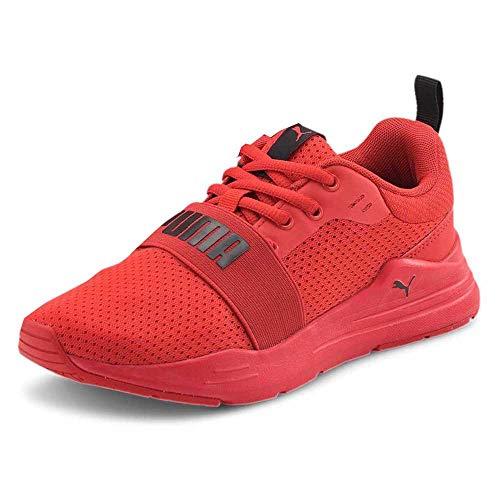 Puma Wired Run Jr, Zapatillas de Running, Red, 36 EU