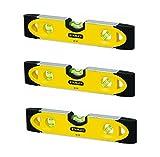 Stanley 43-511 Magnetic Shock Resistant Torpedo Level NIP (3 Pack)