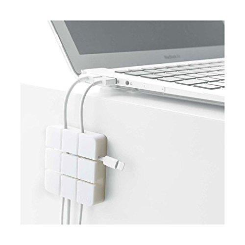 YAMAZAKI Desk Cord Organizer- Accessory for Computer and TV Users