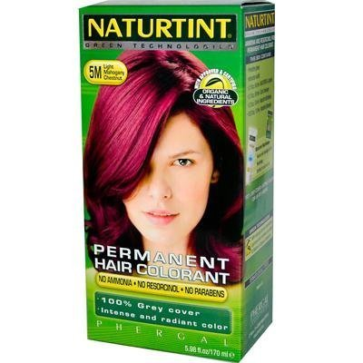 Permanent Hair Color - 5M, Light Mahogany Chestnut, 5.45 oz ( Multi-Pack) by Naturtint