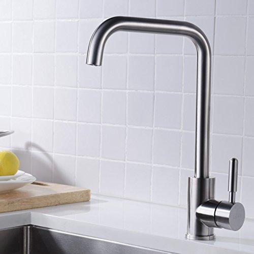 ChengZI 304 robinet d'évier de cuisine de l'eau froide-bassin Robinets en acier inoxydable ,LD82059