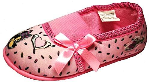 ARNETTA Disney Minnie Pantofole, Ballerine Bimba Art. S22322 Rosa (25 EU)