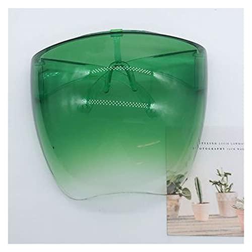 SFQRYP Gafas protectoras para hombre y mujer, gafas de seguridad, antipulverización, gafas de sol de cristal (color del marco: otros, color de las lentes: verde)