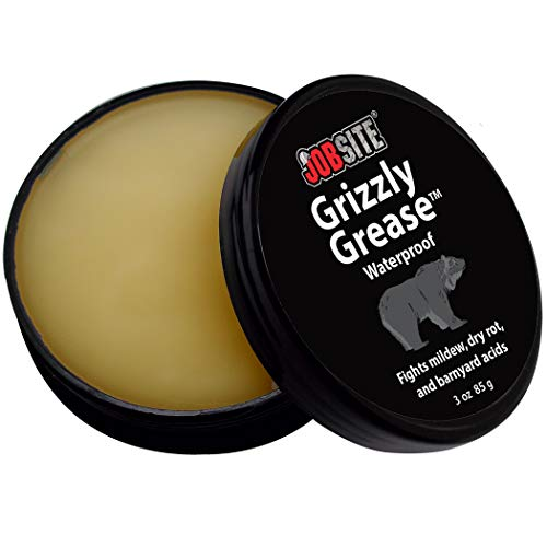 JobSite Grizzly Grease Waterproofing - Leather Protector - 3 oz