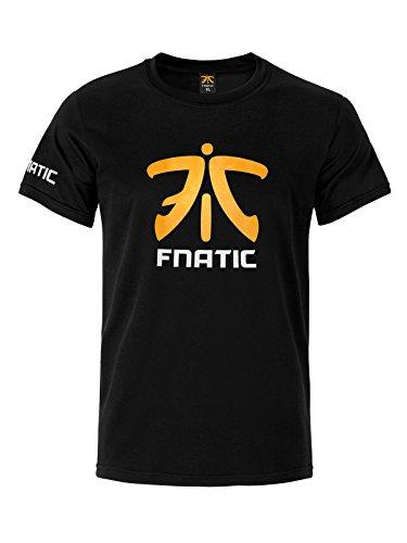 Preisvergleich Produktbild Fnatic Premium Crew Neck T-Shirt, Black,  S