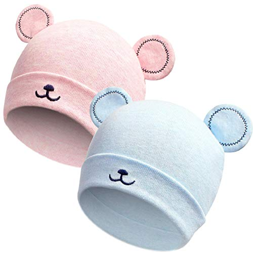 Yuson Girl 0~12 Monate Baby Mütze Unisex Katzenohren Neugeborene Mädchen & Jungen...