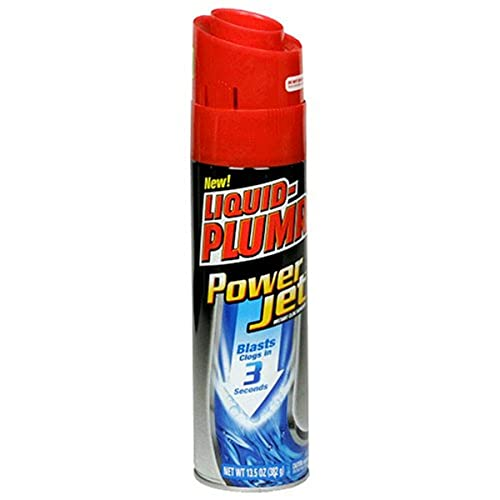 Liquid-PLUMR Power Jet Instant Clog Remover, 13.5-Ounce Cans (Pack of 6)