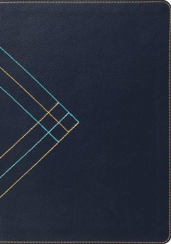 ESV Study Bible (TruTone, Navy, Angle Design)