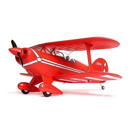 E-flite RC Airplane Pitts S-1S BNF Basic (Transmitter, Battery and Charger not Included) with AS3X and Safe Select, 850mm, EFL35500