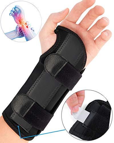 ZOUYUE Handgelenk Bandagen, Handgelenkstütze Handbandage für Sport und Alltag, Schmerzlinderung und die Stabilität unterstützen, Links Rechts (Groß, Links)