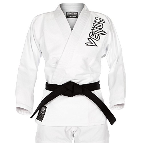 Venum Contender 2.0 Kimono BJJ GI, Unisex Adulto, Blanco, A4