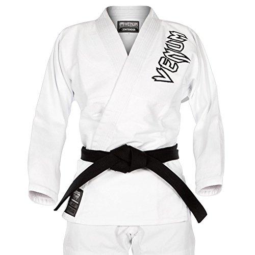 Venum Contender 2.0 Kimono BJJ GI, Unisex Adulto, Blanco, A2