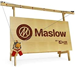 Maslow CNC Router Kit - Basic Bundle - Engraving Wood Milling Machine - 4x8 foot high performance DIY with Z-Axis