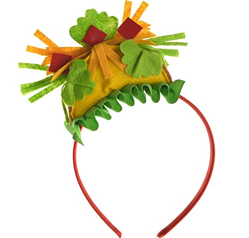 Amscan Party Supplies Mini Taco Headband, 8