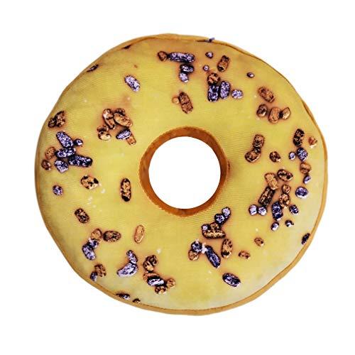 Nunubee - Cuscino decorativo Donuts in polipropilene e cotone per divano imbottitura in gommapiuma auto 13