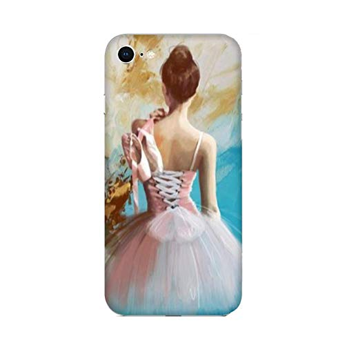 Cover Apple iPhone 6 Plus Danza Che Passione Ballerina Danza Classica/Custodia Stampa Anche sui Lati/Case Anticaduta Antiscivolo AntiGraffio Antiurto Protettiva Rigida