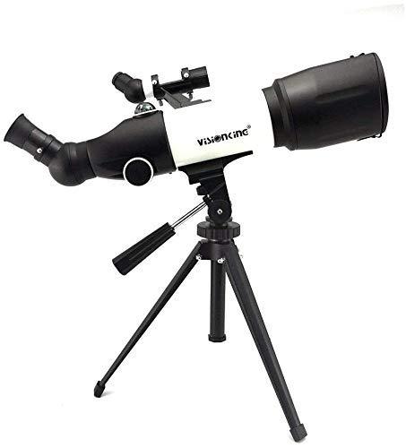 Gpzj Telescopio - Alcance del Reflector Apertura de 60 mm y Longitud Focal de 350 mm para Estudiantes Niños Principiantes Adultos - con 2 oculares