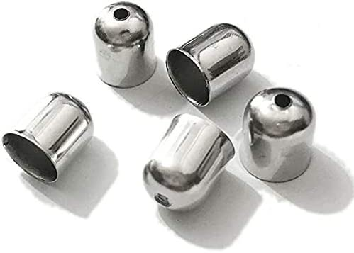 HANDYCRF caps Charms Leather Animer and price In stock revision Cord Beads crimps ned Buckle t