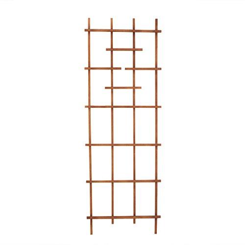 Panacea 82426 72' Brown Wood Ladder Trellis
