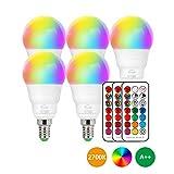 LED Lampe E14 RGBW