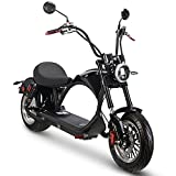 Fat Tire Scooter 4 Speeds for Adults 2500W Electric Motorcycle with Reverse Gear Function and F&R Light and Turn Light