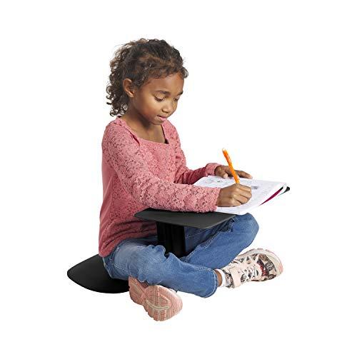 ECR4Kids The Surf Laptop-Ständer, tragbar, Schwarz