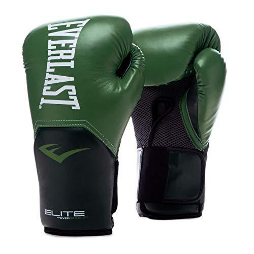 Everlast Elite Pro Style Training Gloves, Green 14oz
