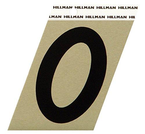 Hillman 840552 3-Inch Aluminum Angle-Cut Number 0