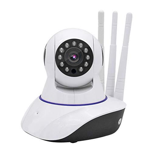 B Blesiya Cámara de Vigilancia Inalámbrica para El Hogar, 720P HD, Intercomunicador de Voz, con Detección de Movimiento, Blanco