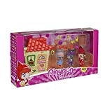 Pinypon 700013830 Rotkäppchen mit kleinem Haus Mini-Puppen, Mehrfarbig