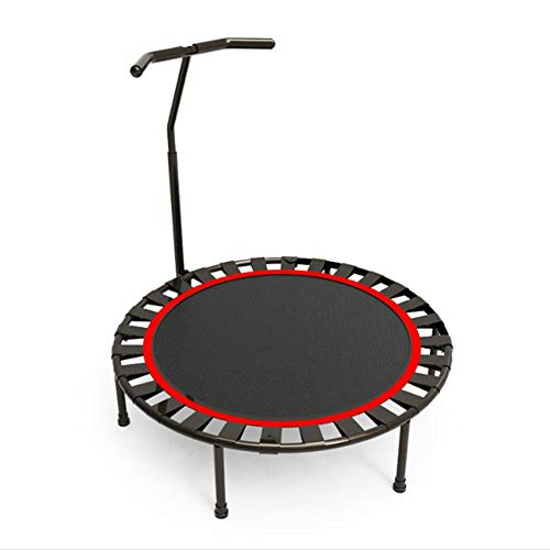 nonbrand 40 Inch Mini Round Trampoline Kids,Foldable Indoor Trampoline, or Jumping Fitness,Portable Gym Rebounder for Home