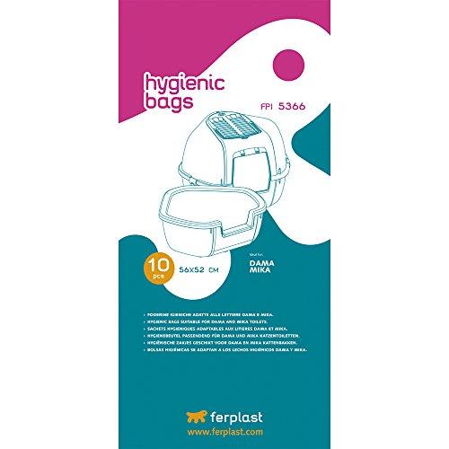 Ferplast FPI 5366Hygienebeutel für Häuser de Toilette Mika und DAMA- 4Stück